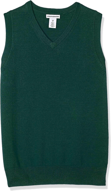 Essentials Boys Uniform V-Neck Sweater Vest