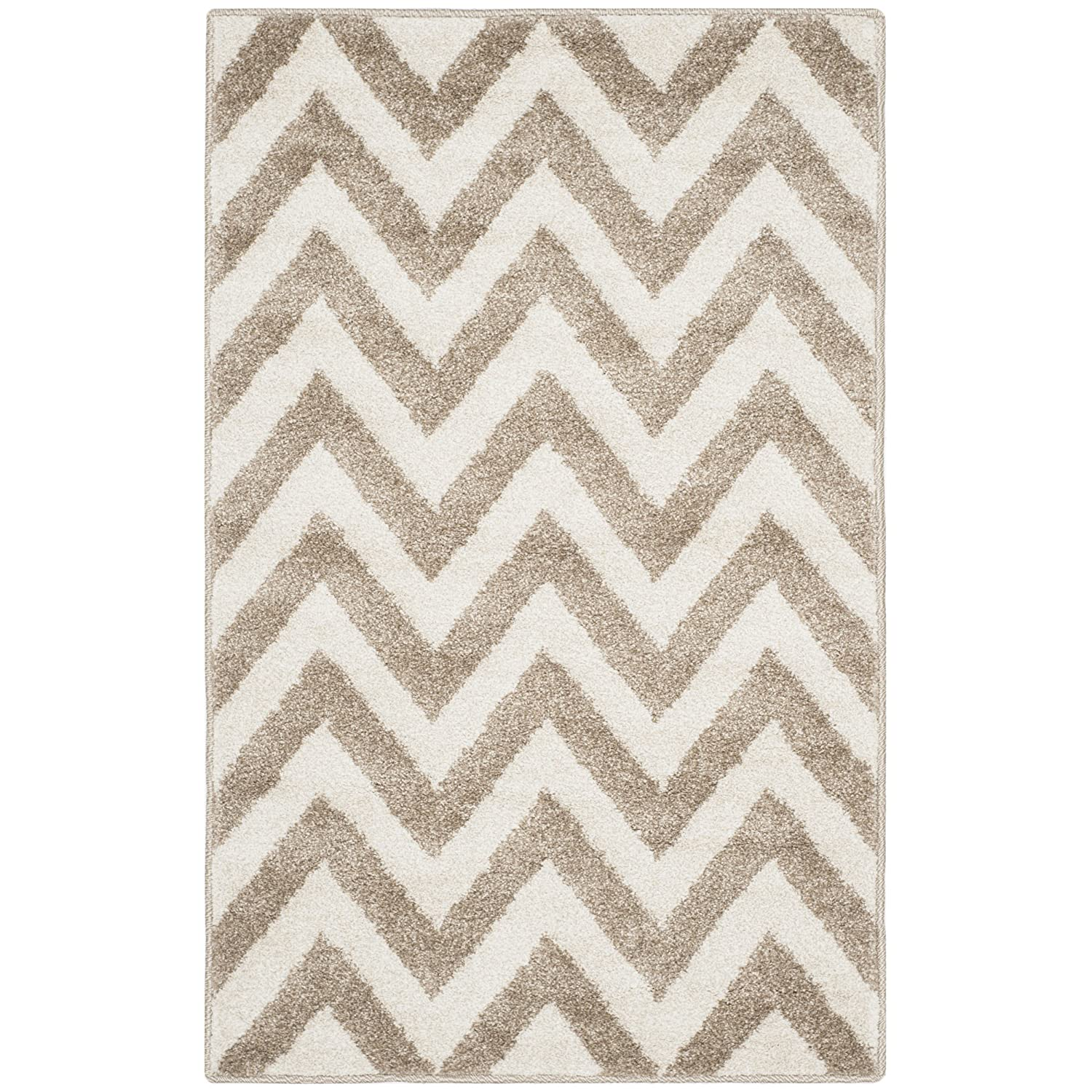 Safavieh Amherst Collection AMT419S Wheat and Beige Indoor// Outdoor Area Rug AMT419S-24 26 x 4