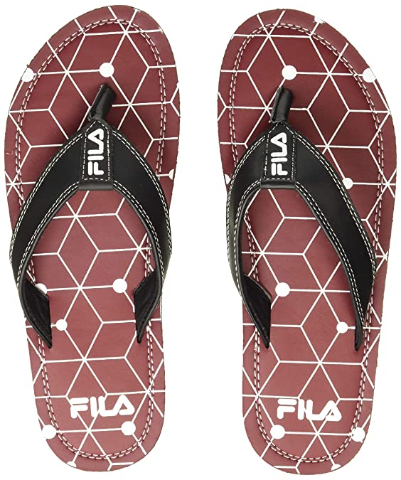 [Size 6] Fila Boy's Cleto Slippers