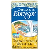Eden Soymilk Unsweetened Organic, 32-ounces (Pack of6)
