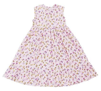216c331cdd Girls Nightie 100% Cotton Long Length Night Dress Girl Size UK 3-7 Years