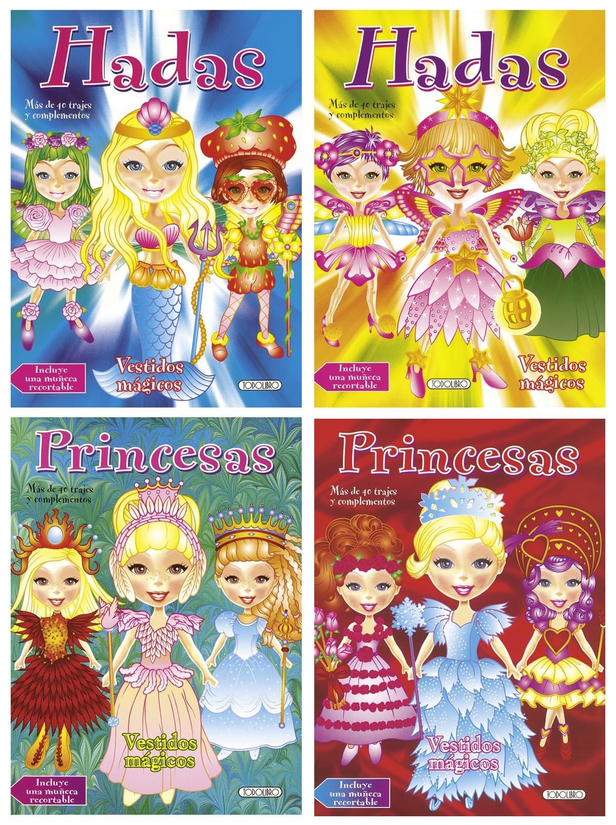 Vestidos mágicos (4 títulos): TODOLIBRO.: 9788499134437 ...