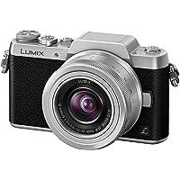 Panasonic DMC-GF7K Lumix Macchina Fotografica con Obiettivo H-FS12032E, Auto Focus, Nero