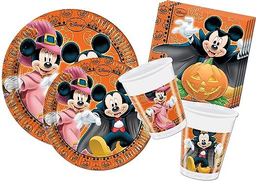120 opinioni per Ciao Y4305- Kit Party Festa in Tavola Mickey Mouse Halloween per 24 persone (112