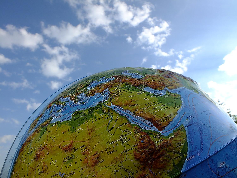 triple-a-toys gmbh Globe terrestre Lumineux avec Relief 32 cm