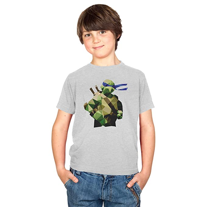 Texlab Poly Tortoise Camiseta, Infantil, Gris, Large: Amazon ...