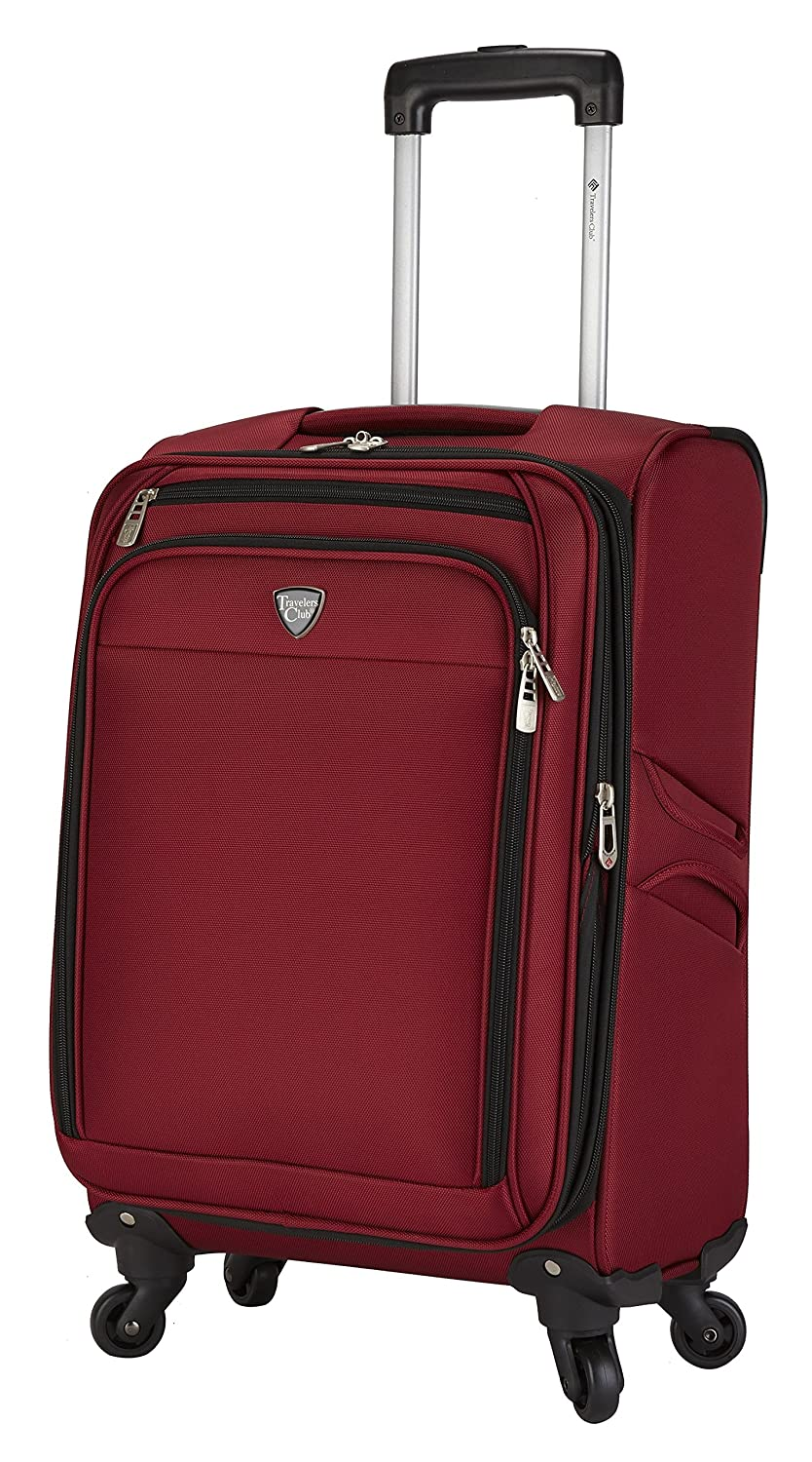 Travelers Club 18 4 Wheel Spinner Carry-On Luggage Travelers Club Luggage TCL-10718-001