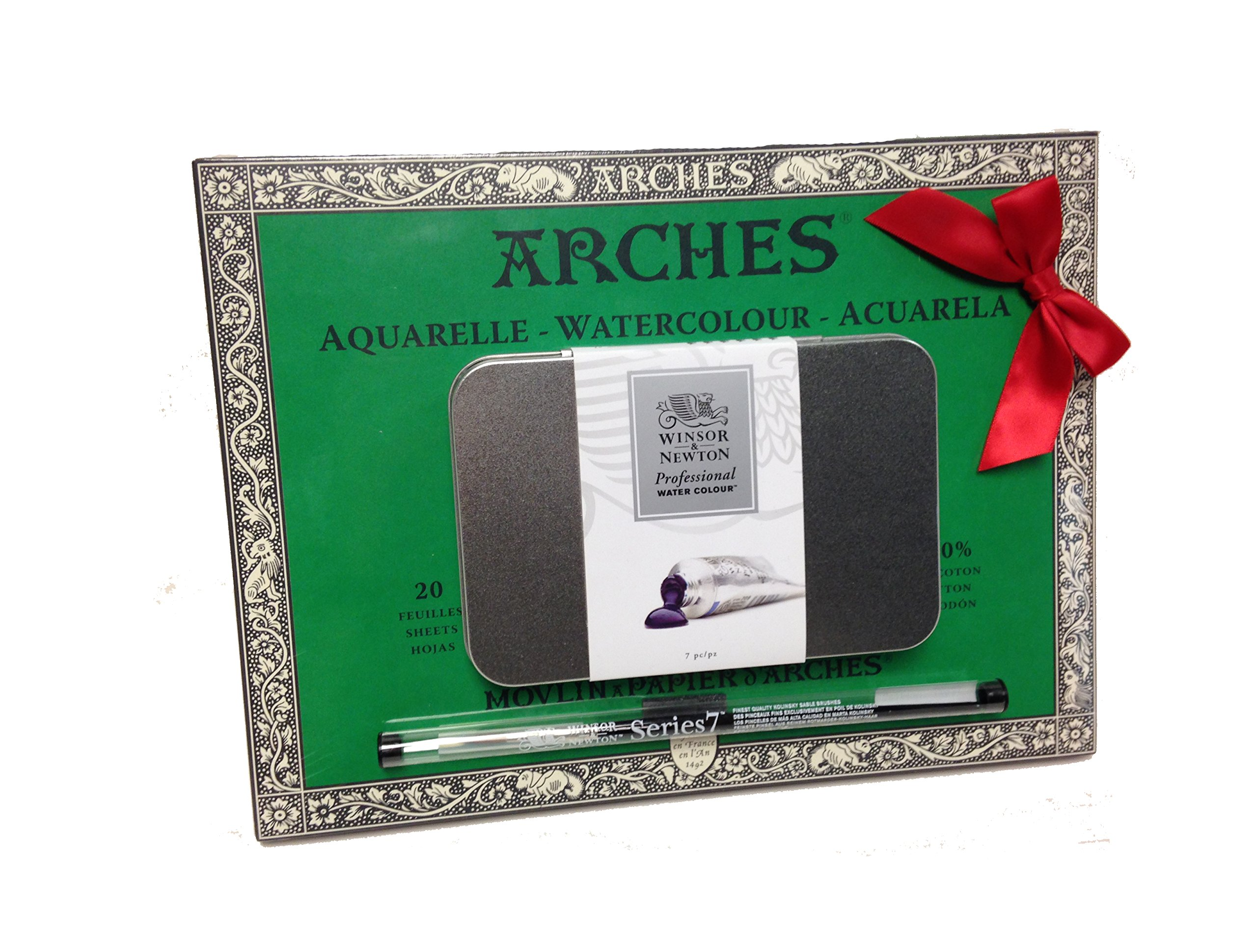 Winsor & Newton Arches Professional Water Colour Gift Set