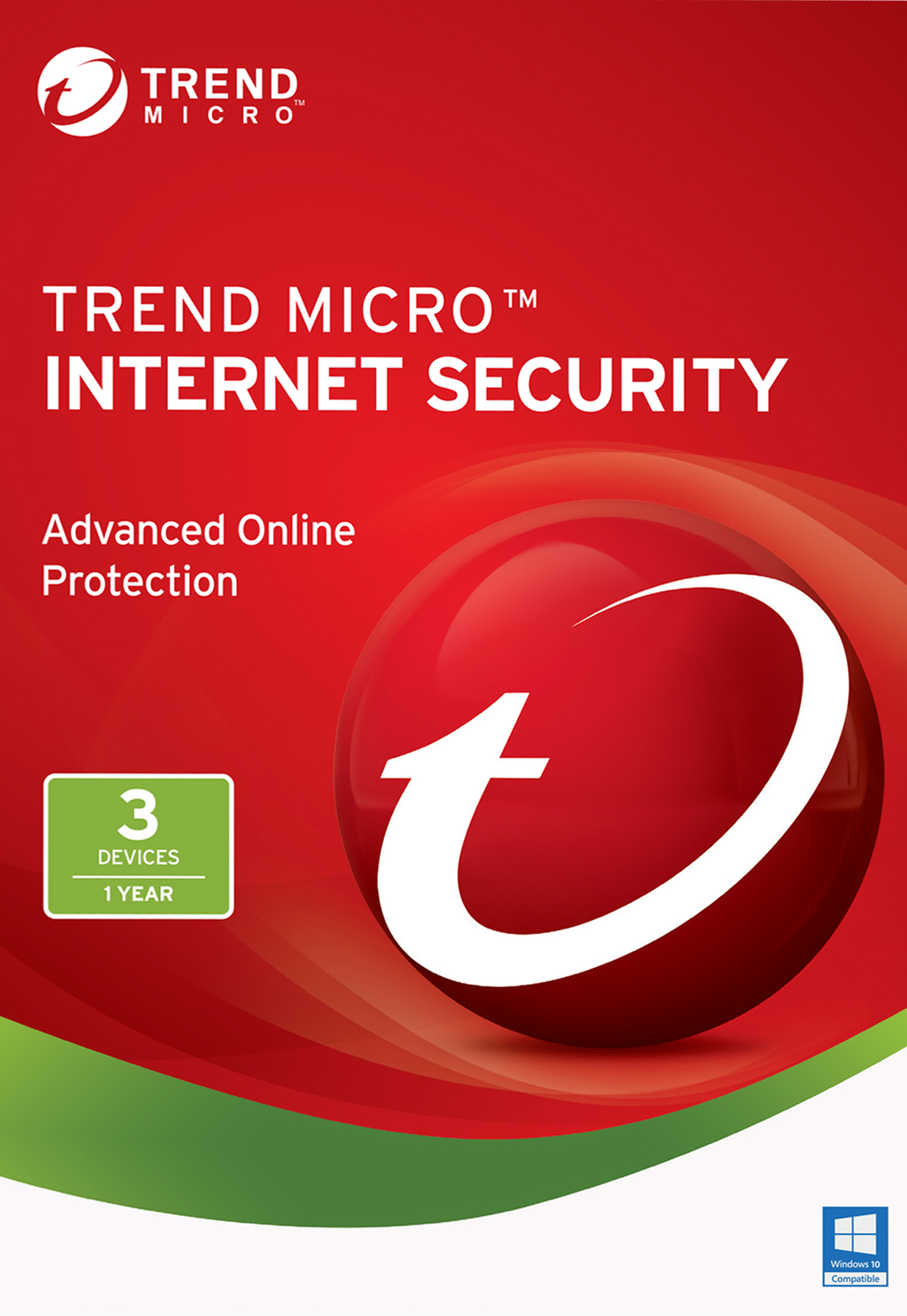 Trend Micro Internet Security 2017  3 Device   Download