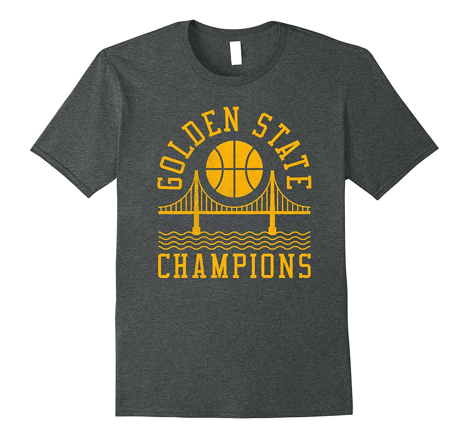 Golden State Champions Golden Gate Bridge 2017 shirt-Art