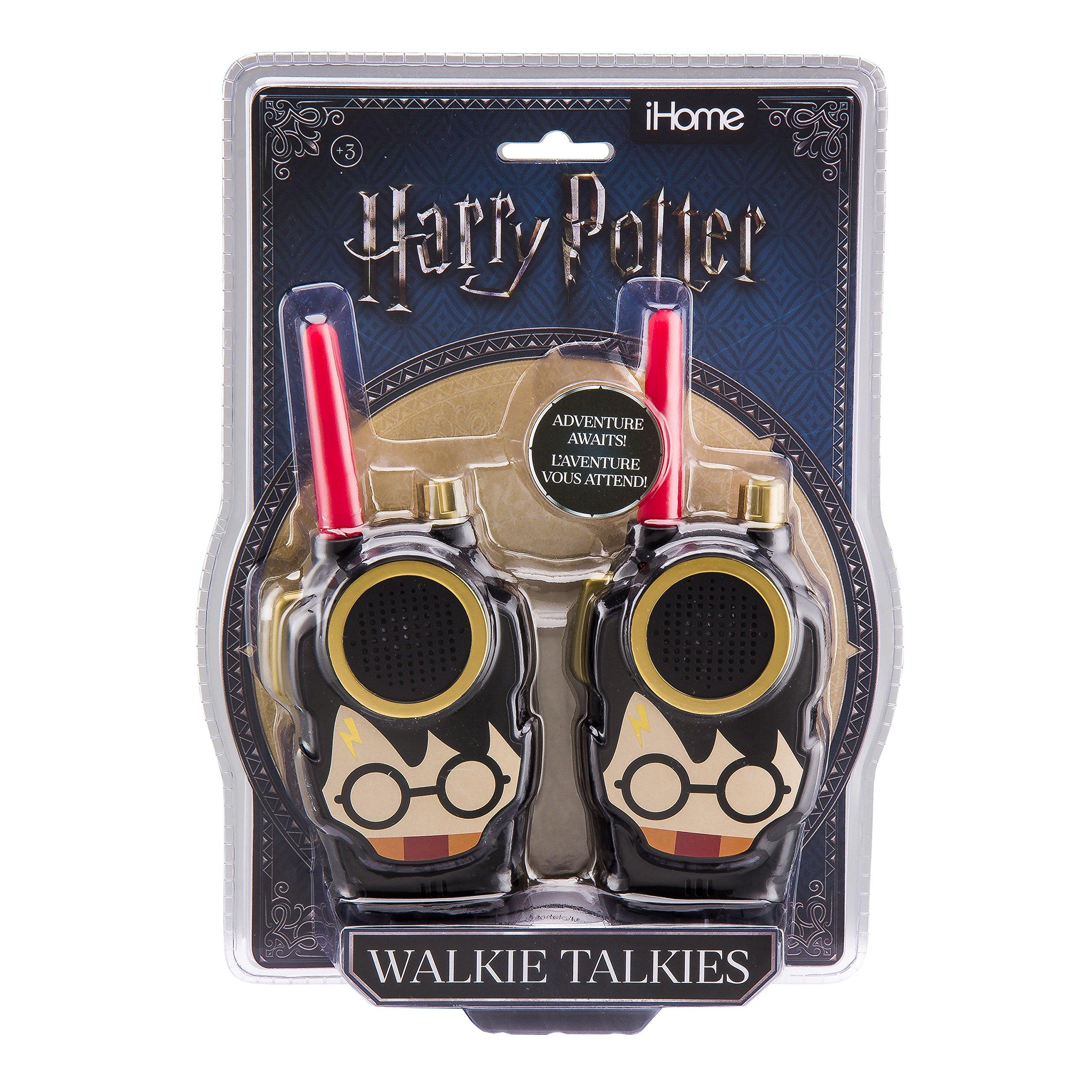 Harry Potter Walkie Talkies for Kids - FRS, Long Range, Adjustable Volume Control