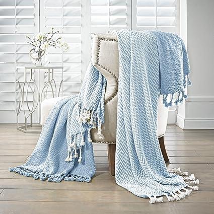 Amazon Amrapur Overseas Monaco 40% Cotton Throw Blanket Enchanting Luxury Throw Blanket By Amrapur