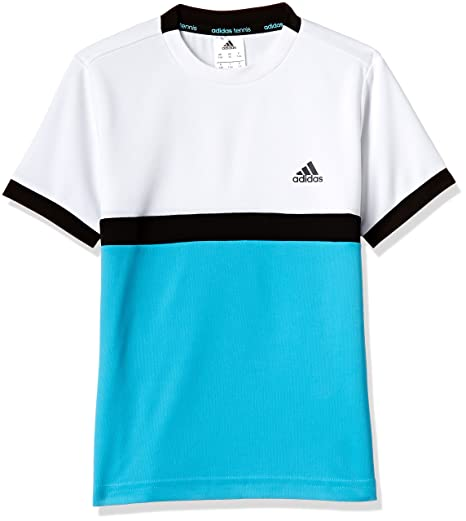 Adidas court tee- Camiseta de tenis para niño (M-152)