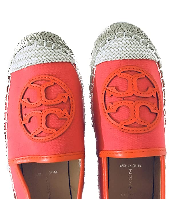 Amazon.com: LOVELY WOMEN ESPADRILLES FOR ANY MOMENT,FLAT SHOES ORANGE. ALPARGATAS DE MUJER PARA TODO TIPO DE OCASION.SIZE 38: Shoes