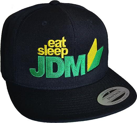 Baddery Petrolhead: Eat Sleep JDM - Gorra de béisbol - Regalo ...
