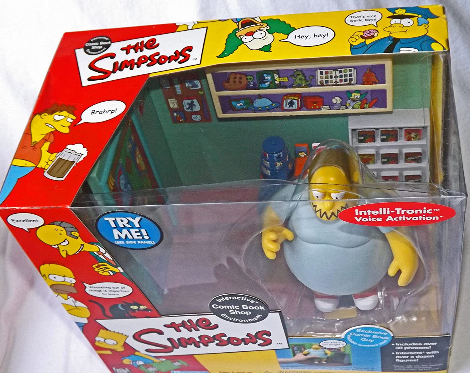 The Simpsons World of Springfield Comic Book Shop