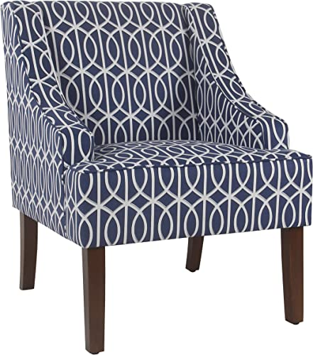 HomePop Classic Swoop Arm Accent Chair