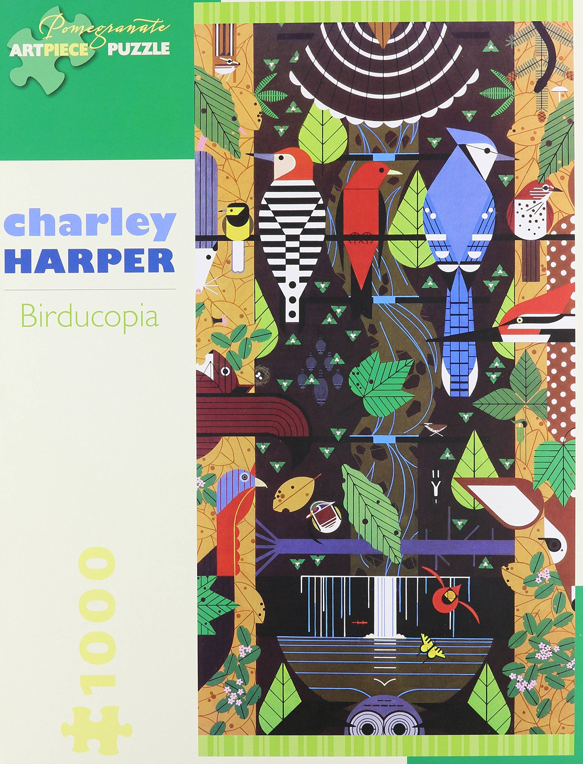 Charley Harper Birducopia 1000-Piece Jigsaw Puzzle Aa829 Pomegranate  Artpiece Puzzle: Amazon.co.uk: Charley Harper: Books