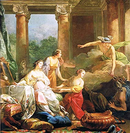 e618cedecf4 Jean-Baptiste Marie Pierre Mercure Amoureux d Herse Change en Pierre  Aglaure 1763 Musee