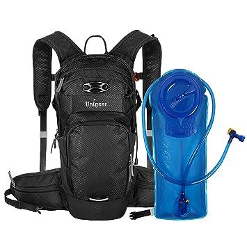 Amazon.com: Unigear - Mochila de hidratación con depósito de ...