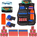 Elover Kids Tactical Vest Kit for Nerf Toys Guns