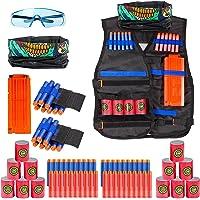 Elover Kids Tactical Vest Kit for Nerf Toys Guns N-Strike Elite Series