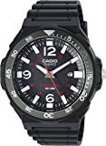 Casio Men's 'Solar Powered' Quartz Resin Automatic Watch, Color:Black