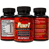 Testosterone Booster - Testosterone Boosting Formula for Men, Sexual Health, Muscle Strength Enhancement, Weight Loss, Test Boost, Sexual Supplements, Pills, Tablets, Testo - By Zappa Nutrition PumpT