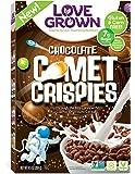 Love Grown Kids Cereal, Comet Crispies, Chocolate, 9.5 Ounce