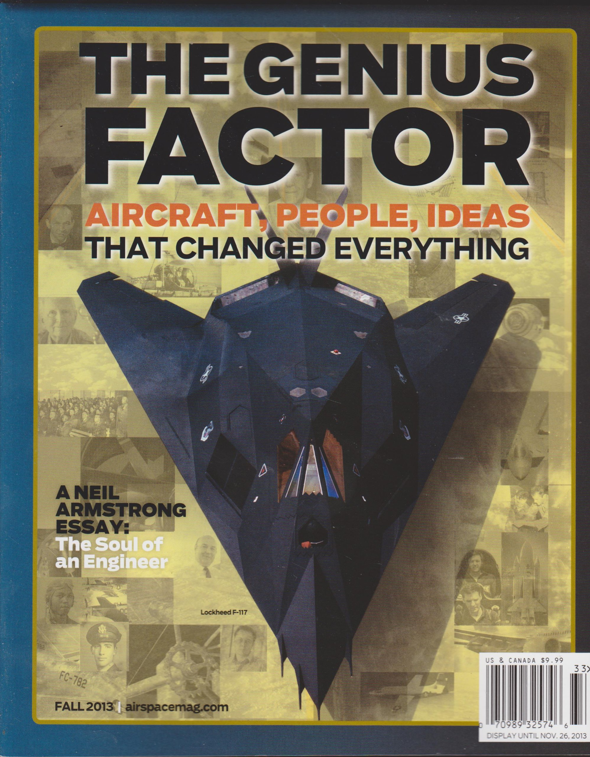 Air & Space Smithsonian Collector's Edition The Genius Factor Fall 2013 pdf