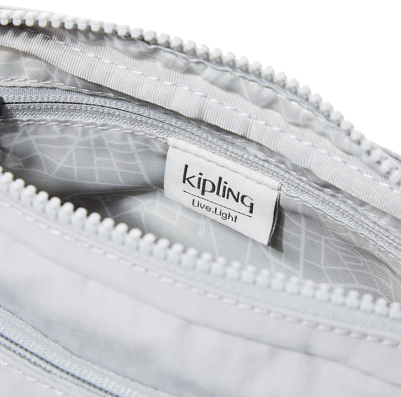 Kipling dam Abanu axelväska, 20 x 13,5 x 7,5 cm Grå (nyfikenhet grå)