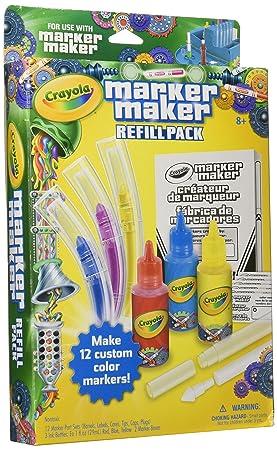 Crayola 74-7055 - Set Recarga Laboratorio de los Rotuladores: Amazon.es: Juguetes y juegos