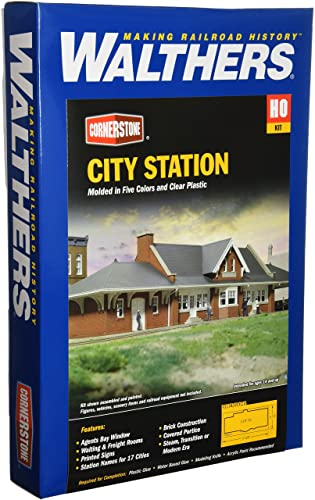 Walthers Cornerstone Series Kit HO Scale City Station on rockford home plans, santa barbara home plans, phoenix home plans, windsor home plans, wisconsin lake home plans, mobile home plans, wisconsin prefab home plans, brighton home plans,