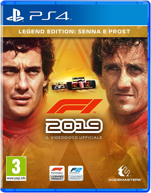 F1 2019 Legends Ed. - - PlayStation 4 [Importación italiana ...