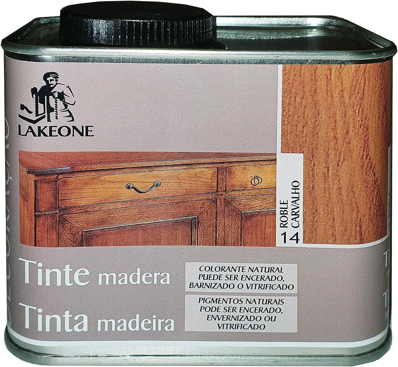 Lakeone LA50101/500M/14 Tinte para La Madera, Roble, 450 ...