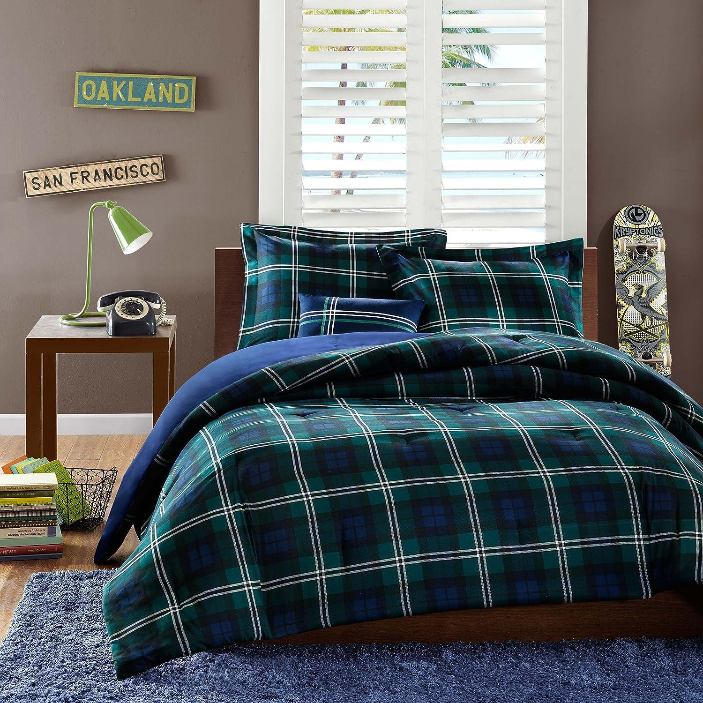 mainstays com walmart bed ip multiple brown bag comforter sets sizes in bedding plaid a set