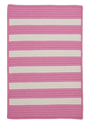 Stripe It Rug, 4 by 6-Feet, Bold Pink