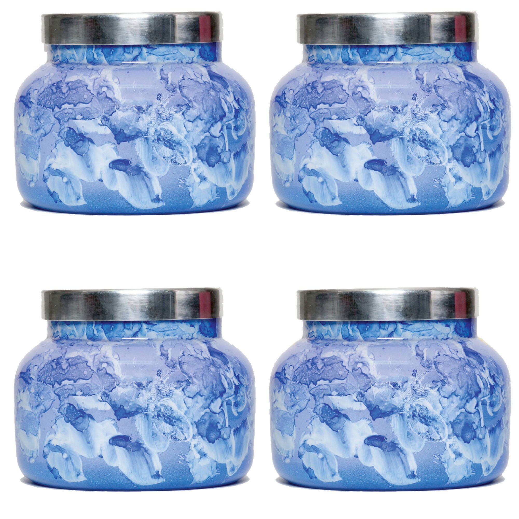19 oz Capri Blue Watercolor Jar Blue Jean (4 pack) by Capri Blue