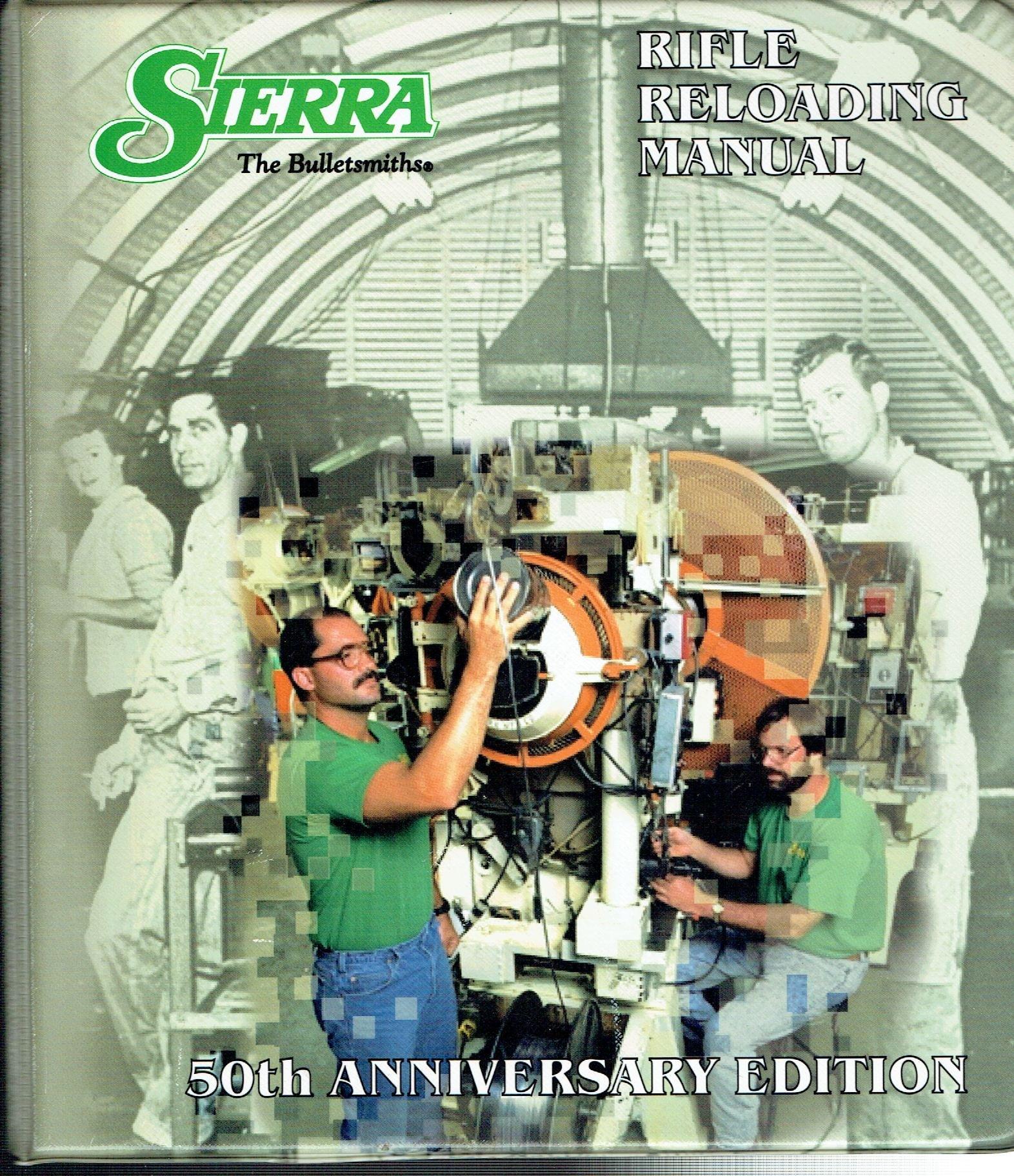 Sierra Rifle Reloading Manual 4th Edition 50th Anniversary Callis C Ed Amazon Com Books