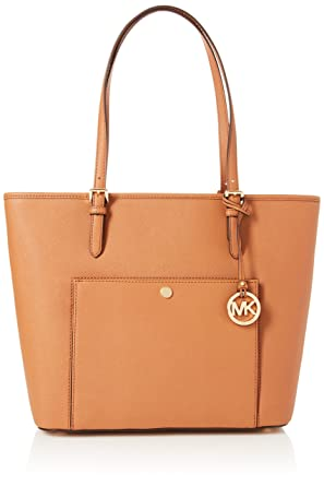 d328b1e75f81 Amazon.com: MICHAEL Michael Kors Jet Set Travel Large Logo Tote ...