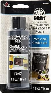 product image for FolkArt Plaid Folk art Chalkboard Paint 4oz Black Carded, 4 ounce