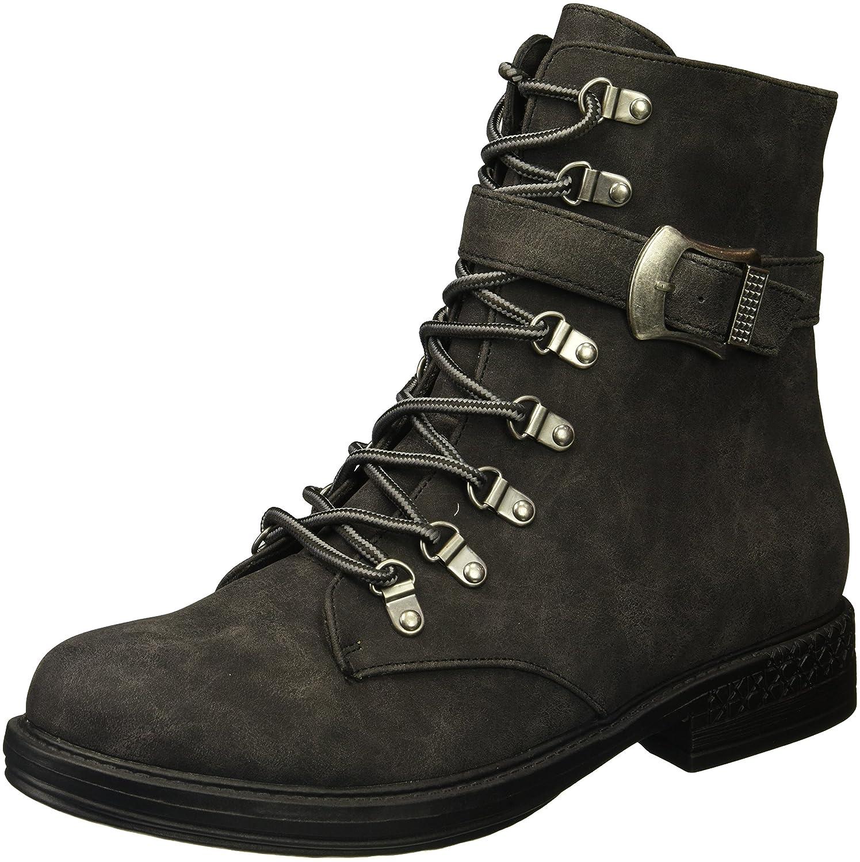 2 Lips Too Women's Too Random Combat Boot B074J8KLNC 6.5 B(M) US|Black