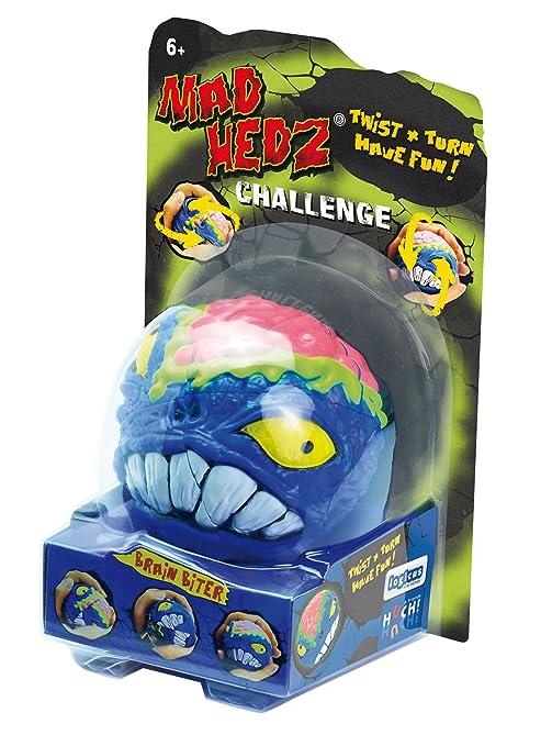 Huch & Friends 878762 - Mad Hedz Brain Biter, Geschicklichkeitsspiel