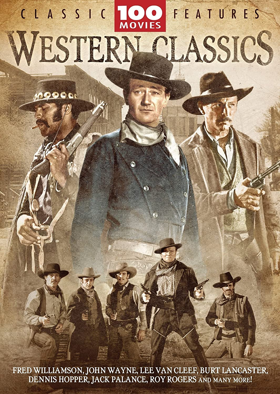 Amazon.com: Western Classics 100 Movie Pack: Richard Egan ...