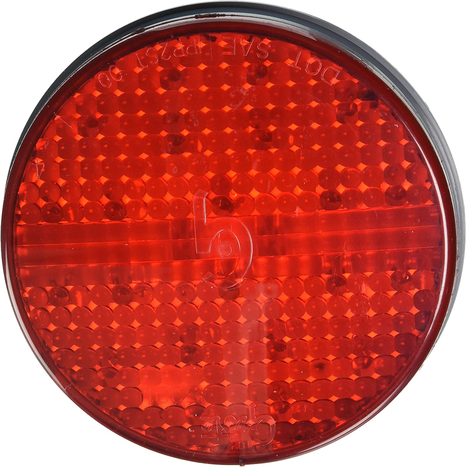 Grommet Mount, Male Pin Grote 53413 SuperNova 4 Full-Pattern LED Stop Tail Turn Light