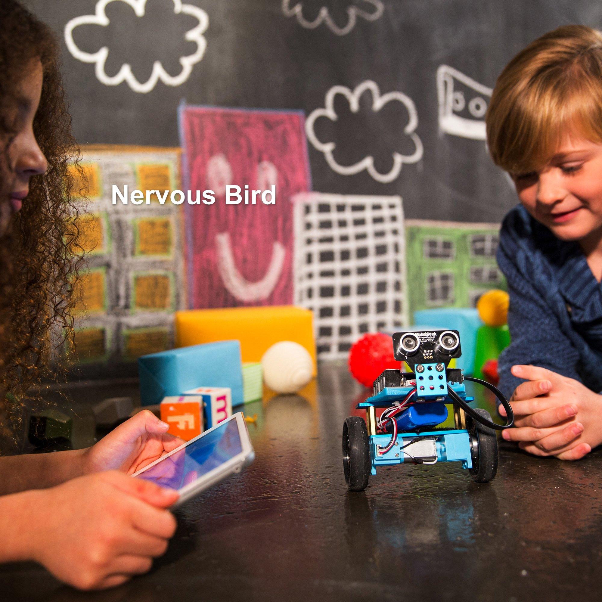 Makeblock Programmable mBot Ranger Robot Kit, STEM Educational Engineering Design & Build 3 in 1 Programmable Robotic System Kit - Ages 10+ by Makeblock (Image #4)