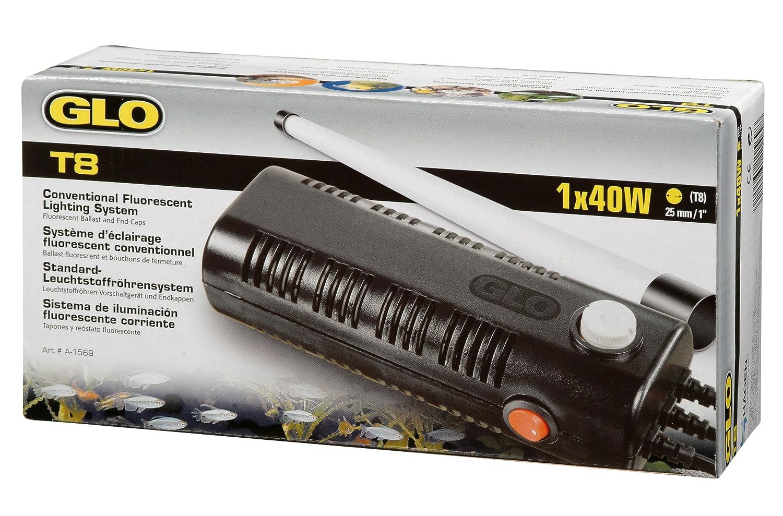 Glo Glomat 1 Leuchtstoffröhre Glo T8-Vorschaltgerät 1x 20 Watt HGA1565