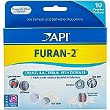API FURAN-2 Fish Powder Medication 10-Count Box (70P)