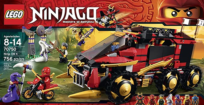 Amazon.com: LEGO Ninjago Ninja DB X Toy: Toys & Games