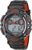 Armitron Sport Men's 40/8287ORG Large Orange Accented Grey Resin Strap Chronograph Digital Watch
